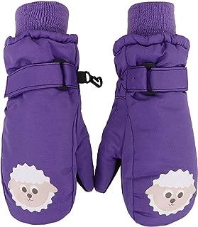 SimpliKids Children's Winter Thinsulate Insulated Waterproof Ski Mittens,Animal