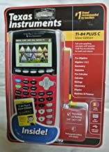 $149 » Texas Instruments TI-84 Plus C Silver Edition Graphing Calculator, Full Color Display, Includes Dummies Manual, Dark Pink (Renewed)