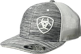 قبعة رجالي بيضاء بشعار الأوفست من Ariat