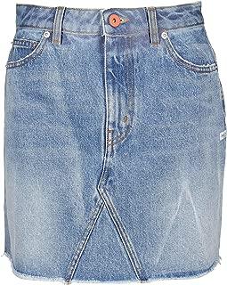 HERON PRESTON Luxury Fashion Womens HWYF002E196410267398 Light Blue Skirt | Fall Winter 19