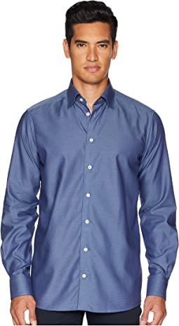 Contemporary Fit Diamond Textured Shirt