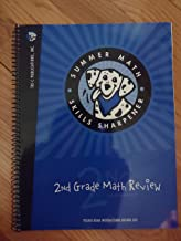 Summer Math Skills Sharpener, 2nd Grade Math Review