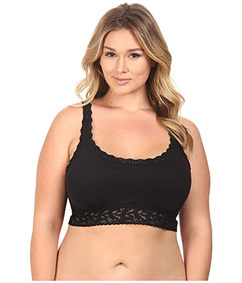 328c8b46466 Hanky Panky Plus Size Cotton with a Conscience Crop Top at Zappos.com
