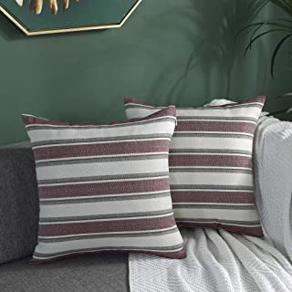 Decorative Pillows Inserts Covers Striped Decorative Pillows Inserts C Home Kitchen