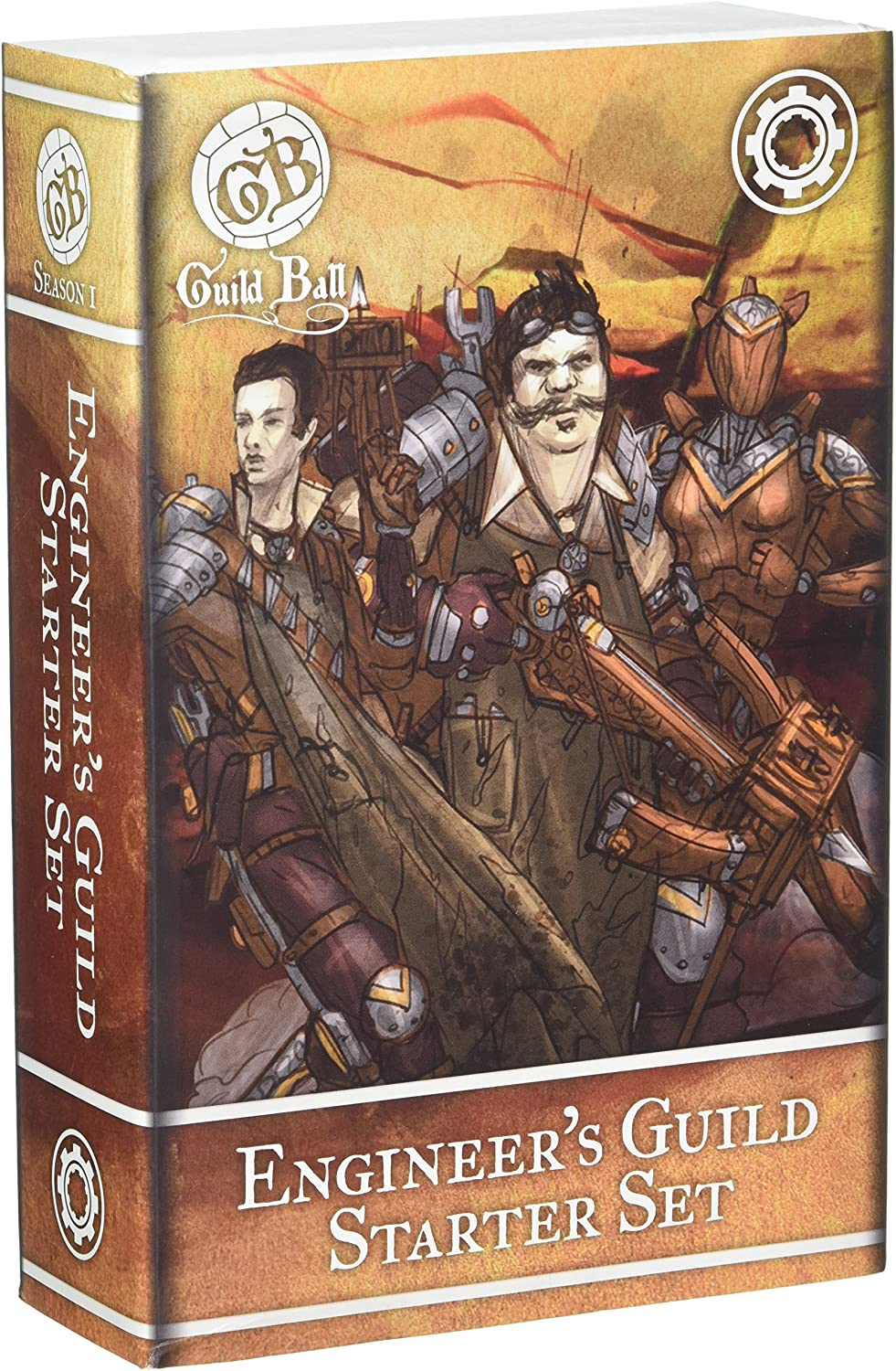 Steamforged Spiele Guild Ball Ingenieur Starter Set
