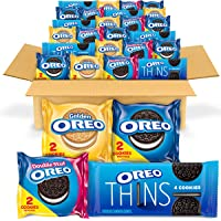 56-Pack OREO Cookies Variety Pack (Original, Golden, Double Stuf & Thins)