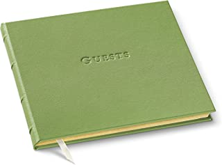 Gallery Leather Guest Book (Kiwi)