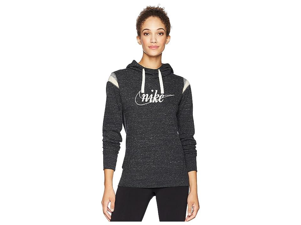 Nike Gym Vintage Hoodie Pullover HBR (Black/Sail) Women