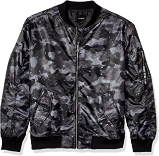 Men's Lightweight Ma-1 Bomber Jacket in Solid and Camo