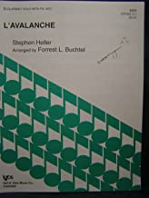 L'Avalanche for Bb Clarinet Solo with Piano Accompaniment