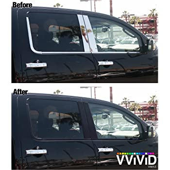 60 Inch x 60 Inch Large Roll VViViD Complete Car Window Wrap 60/% Smoke Tint Glass Vinyl Film