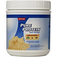 Pure Protein Powder Whey Low Sugar 1 lb