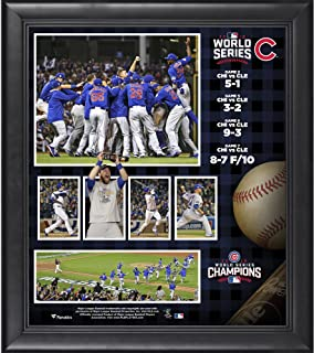 Chicago Cubs 2016 MLB World Series Champions Framed 15