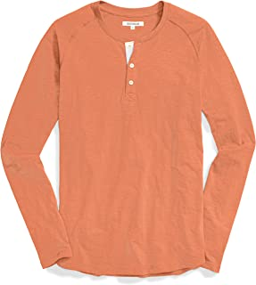 Goodthreads Men's Long-Sleeve Lightweight Slub Henley
