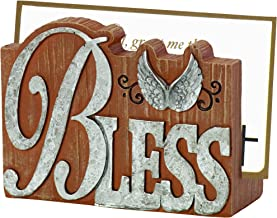 Precious Moments Pray It Forward Collection Prayer Card Holder with 20 Bless Prayer Cards, 8153006
