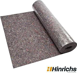Malervlies Tapete ca. 1 m x 50 m = 50 m2 Abdeckvlies 180g je qm stark mit PE Anti Rutsch Beschichtung - Oberflächenschutz für Maler und Heimwerker 50m 180 g/m2