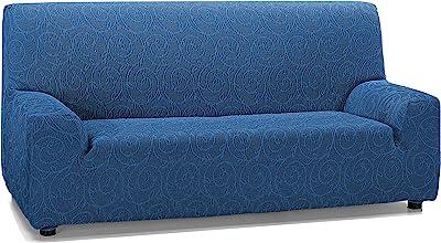 Martina Home Indiana Funda de sofá, Azul, 3 Plazas
