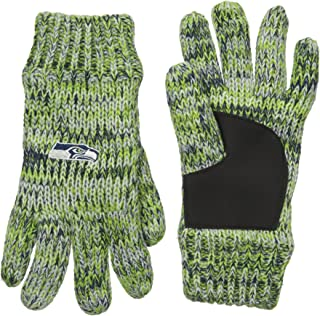Forever Collectibles NFL Football Team Logo Winter Peak Gloves - Pick Team
