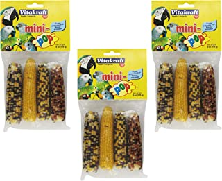 Vitakraft Treat Mini Pop For Birds -- 6 oz (3 Packages, 4pcs per Package)