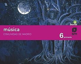 Música. 6 Primaria. Savia. Madrid
