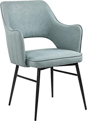 Right2Home Light Blue Channel Back Dining Chair