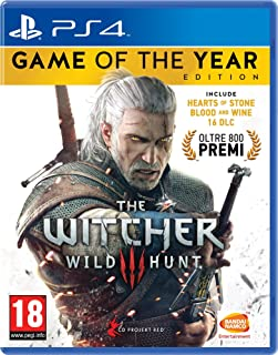 The Witcher III - Game Of The Year - Wild Hunt - PlayStation 4, Dialogo: Inglese, Sottotitoli: Italiano