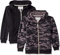 black camo zip hoodie