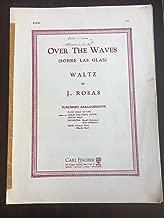 Over The Waves (Sobre Las Olas) Waltz. Violin and Piano