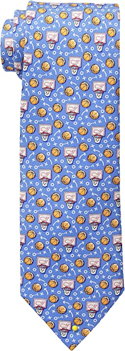 Vineyard Vines Basketball Pick & Roll Printed Tie