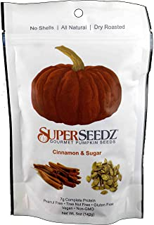 Superseedz - Cinnamon & Sugar Pumpkin Seeds - 5 Oz. Bag