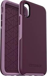 OtterBox Symmetry sturzsichere Schutzhülle für iPhone X/Xs, lila