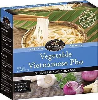Snapdragon Vegetable Vietnamese Pho Soup Bowl, 2.1 oz (Pack of 6)