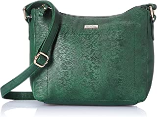 Amazon Brand - Eden & Ivy Women's Eden & Ivy Cross Body in Textured PU (Green)