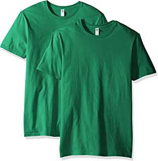 Fruit of the Loom Men's Crew T-Shirt (2 Pack), Clover, Large