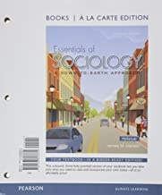 Books a la Carte for Essentials of Sociology & REVEL -- Access Card -- for Essentials of Sociology: A Down-to-Earth Approach Package (11th Edition)