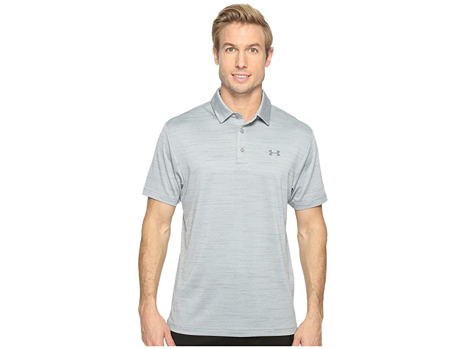 Under Armour Golf UA Playoff Polo (Steel/White/Graphite) Men