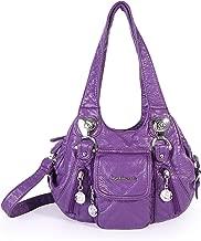 Angel Barcelo Satchel Purses for Women, Ultra Soft Vegan Leather Purses and Handbags,Tote Purse