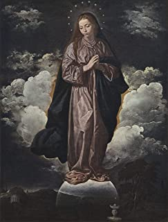 Home Comforts Velázquez, Diego - The Immaculate Conception Vivid Imagery Laminated Poster Print 11 x 17