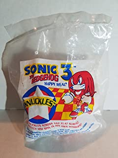 McDonalds Happy Meal - Sonic the Hedgehog - Knuckles {Fast Food Toy} 90's