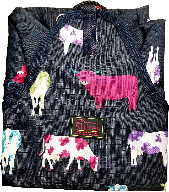 Shires Hay Bag in Fun Prints Cow Print