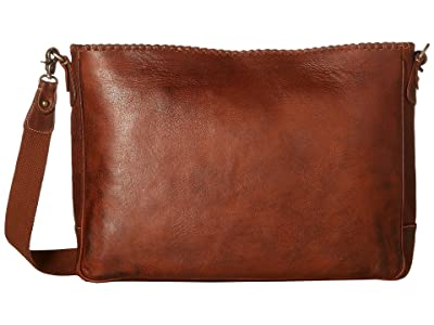 Scully Walker Messenger Bag (Tan) Messenger Bags