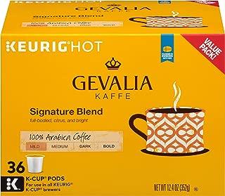 Gevalia Mild Signature Blend Keurig K Cup Coffee Pods (36 Count)