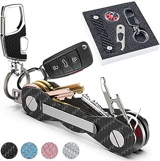 Outdoor EDC Multi Tools Mini Pocket Folded Keychain Key Holder Clip Organizer FL