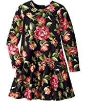 Dolce & Gabbana Kids - City Rose Print Dress (Big Kids)