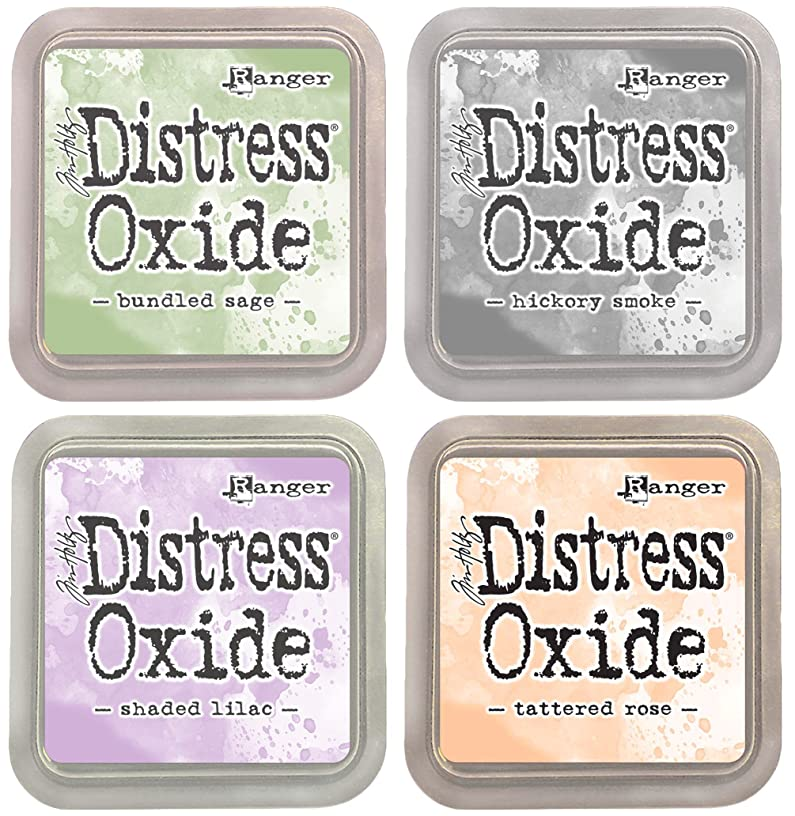 Tim Holtz Ranger Distress Oxide Ink Bundle A - Four 3
