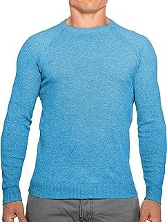 CC Perfect Slim Fit Suéteres de cuello redondo para hombre