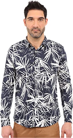 Night Garden Long Sleeve Shirt
