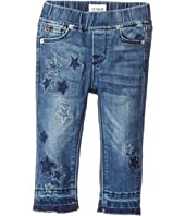 Hudson Kids - Stardust Skinny Jeans w/ Star Patches in Buffalo (Infant)