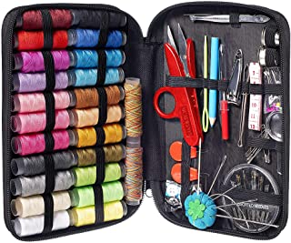 MYFOXI Sewing Kit for Adults, Kids, Home, Travel, Sew Repair, 101pc Deluxe Mini Sewing Supplies Set with Thread and Needle...