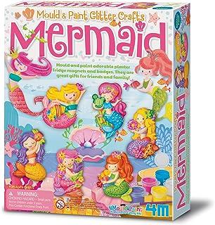 4M Mould Paint Glitter Mermaid, Multi-Colour, Assorted